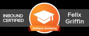 Felix L. Griffin, HubSpot Certified, Inbound Marketing Consultant