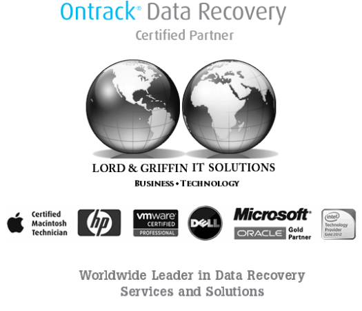 Lord & Griffin IT Solutions - Ontrack- Data Recovery - Certified Partner